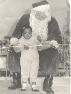 I was scared to take a picture with him back then.